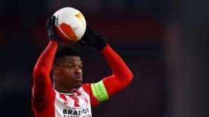 Нидерландски защитник иска да играе в Англия или Германия