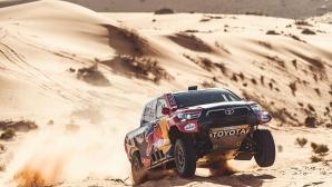 Насер Ал-Атия спечели и предпоследния етап на Рали Дакар
