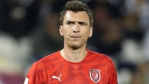 Марио Манджукич се разбра с Милан
