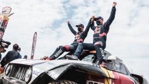 Легендата Стефан Петерханзел спечели за 14-и път Рали Дакар