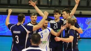 Израел излъга Австрия на европейската квалификация в Хадера и помогна на България (снимки)