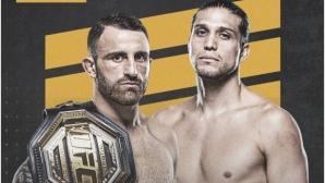 Александър Волкановски срещу Брайън Ортега на UFC 260