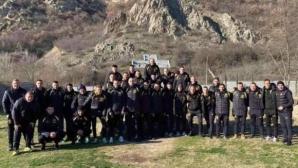 Футболистите на Миньор (Пк) посетиха Рупите