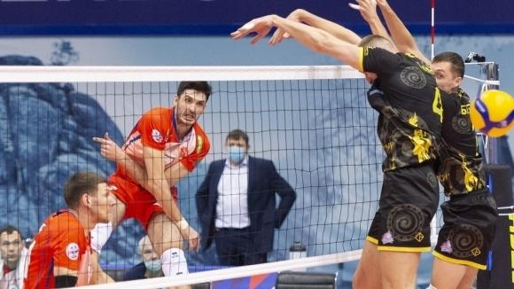 Тодор Скримов избухна с 22 точки и 7 аса! Енисей с нова победа в Русия