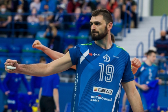 Супер Цецо Соколов с 24 точки, Динамо удари и Кузбас в Русия (снимки)