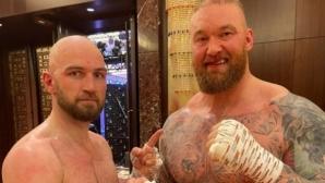 Хафтор Бьорнсон дебютира с равенство в бокса