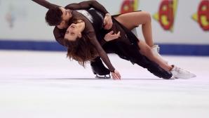 Четирикратните световни шампиони по фигурно пързаляне Пападакис и Сизерон ще пропуснат СП в Стокхолм
