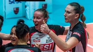 Добриана Рабаджиева и Сеси на полуфинал за Купата на Бразилия
