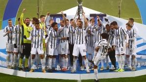 Триумф за Ювентус, рекорд за Кристиано и сълзи за Наполи (видео+галерия)
