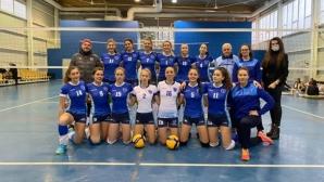 Волейболистките на ДКС Варна с втора победа за 24 часа в женското първенство