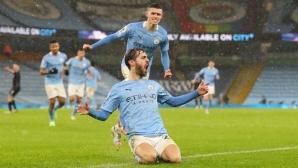 Манчестър Сити 1:0 Астън Вила, Силва откри (гледайте тук)