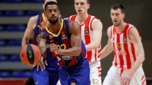 Барселона измести ЦСКА Москва от върха в Евролигата