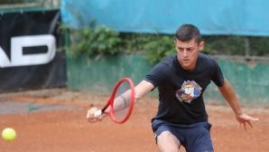 Лазаров отпадна на полуфиналите на двойки в Анталия