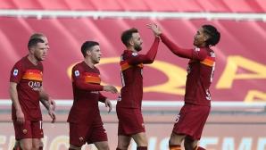 """Секунди не стигнаха на Гълъбинов и компания да шокират отново Рома на """"Олимпико"""" (видео)"""