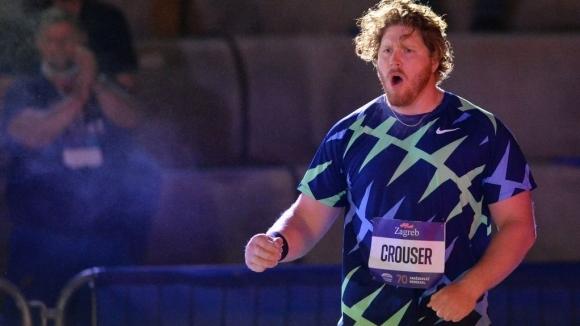 Райън Краузър подобри световния рекорд в тласкането на гюле в зала