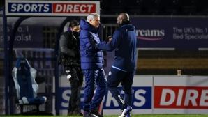 Моуриньо реагира на уволнението на Лампард