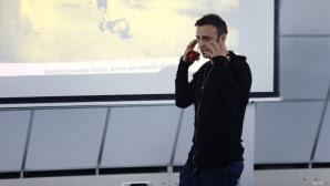 От Етър: За нас е изключителна чест и удоволствие да работим с Бербатов
