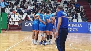 Дунав излезе начело във втората осмица на Суперлигата след 7 от 7