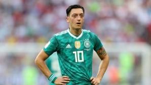 Йозил: Никога повече няма да играя за Германия