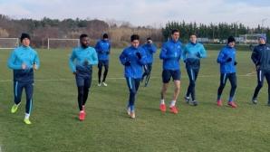 Само осем тренират в Левски