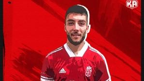Димитър Митков може да дебютира за ЦСКА 1948 още утре