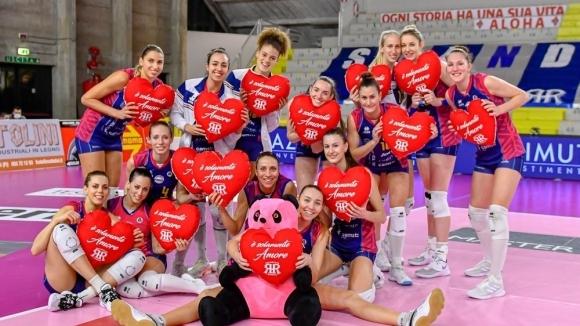 Елица Василева и Скандичи с нова победа в Италия