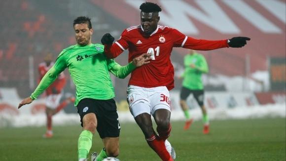 Какъв дебют на Кайседо! ЦСКА-София вече е на три точки зад Лудогорец (видео+галерия)