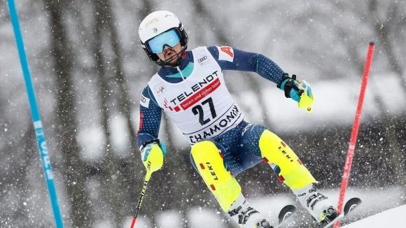 Алберт Попов изтърва златен шанс в слалома на СП в Кортина