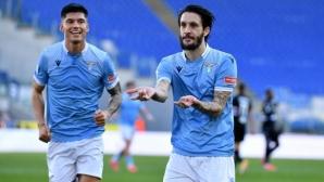 Луис Алберто гарантира нова домакинска победа за Лацио (видео)