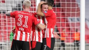 Гьотце с два гола в един мач за първи път от 2016-а (видео)