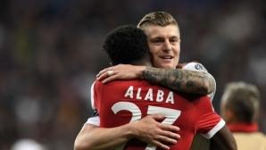 Кроос: Алаба има качествата да играе в Реал, но това невинаги е достатъчно