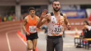 Убедителна победа и рекорд за Митко Ценов на 1500 метра в Белград