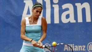 Шиникова отпадна на четвъртфиналите в Москва