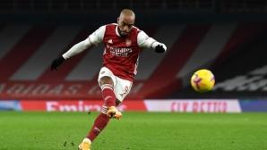 Монако ще опита да се подсили с нападател на Арсенал