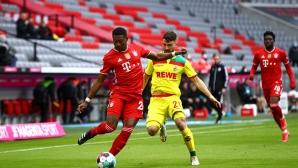 Петзвезден Байерн не пощади Кьолн, баварците с 9 гола в два мача (видео)