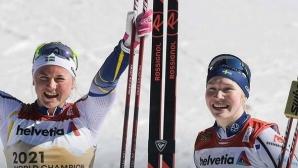 Швеция спечели отборния спринт при жените