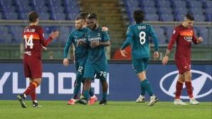 """Милан укроти """"вълците"""" в зрелищен мач, но даде три жертви (видео)"""