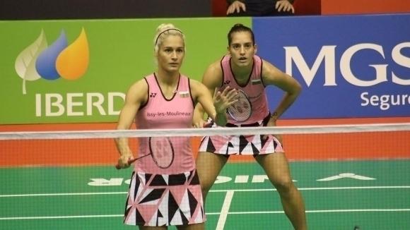 Сестри Стоеви се класираха за полуфиналите на двойки в Базел