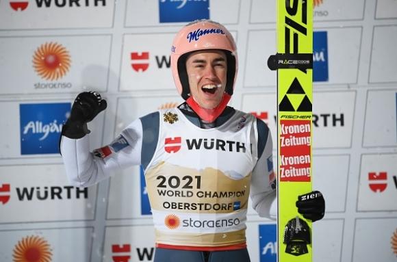 Щефан Крафт спечели първата си световна титла на голяма шанца, Зографски остана на 37-о място