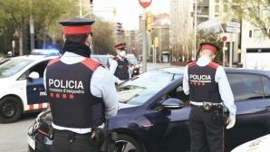 Полицаи нахлуха в офиса на Барселона