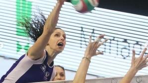 Ева Янева с 24 точки, Волеро с 12-а победа във Франция