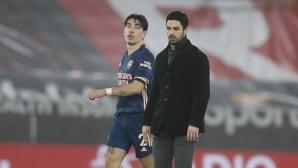 Белерин дал обещание на Лапорта за Барселона