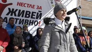 Екатерина Дафовска за зимните спортове и активния начин на живот през студените дни