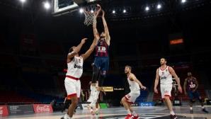 Везенков и Олимпиакос се сринаха в Испания (видео)