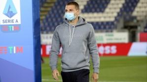Михайлович: Антов ми хареса, въпреки че сбърка при гола