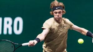 Андрей Рубльов срази Анди Мъри, достигна 1/4-финалите в Ротердам