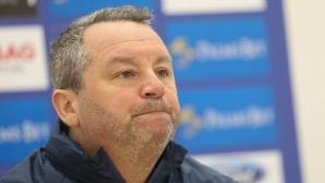 Стоянович: Не съм притеснен, че сме гости на Славия
