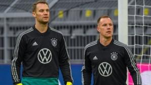 Йенс Леман: Нойер е №1, Тер Стеген пуска по 8 гола в Шампионската лига