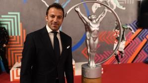 Алесандро дел Пиеро започва работа като анализатор за ESPN