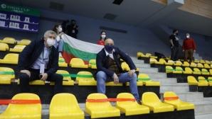 """Министър Кралев подкрепи националите за """"Купа Дейвис"""""""